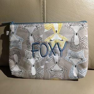 'FOXY' Zipper Pouch